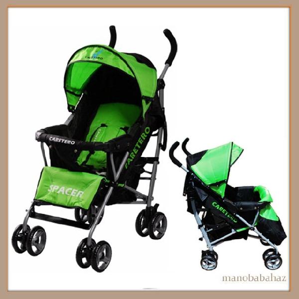 Caretero Spacer Sportbabakocsi zöld