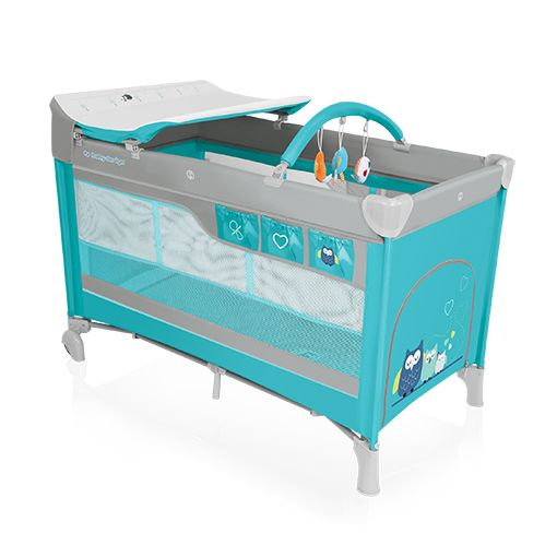 Baby Design Dream TURQUISE Multifunkciós Utazóágy
