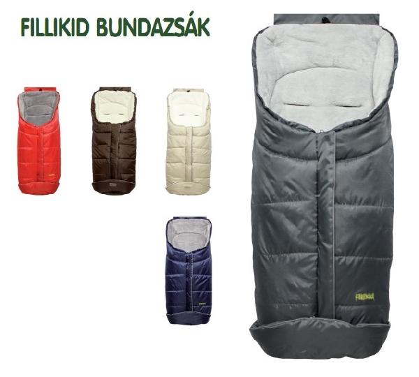 Fillikid K2  bundazsák  wellsoft puha béléssel