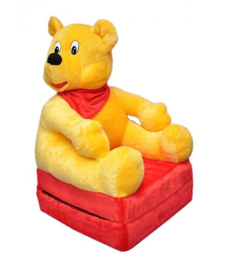 Baba plüss kinyitható gyerek fotel micimackó
