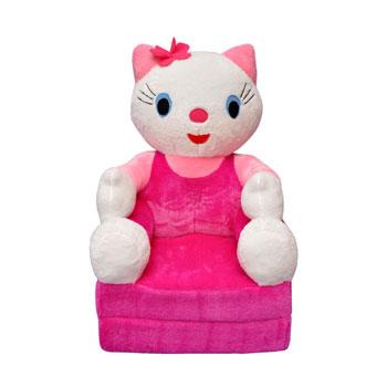 Baba plüss kinyitható fotel Hello Kitty