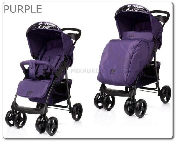 4 Baby Guido sport babakocsi purple