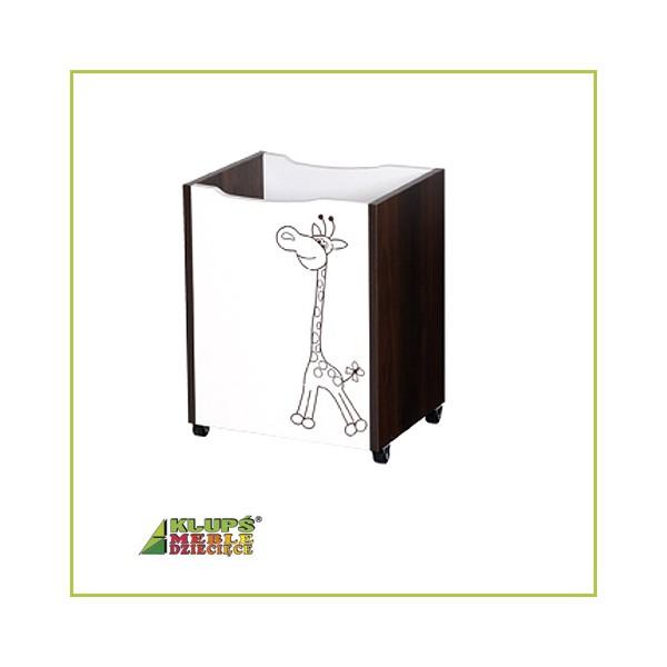 Klups Safari zsiráf játéktároló