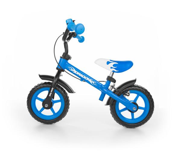 Milly Mally DRAGON kék futóbicikli fékkel