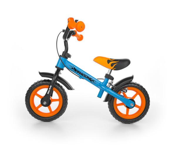 Milly Mally  Dragon kék-narancs futóbicikli fékkel