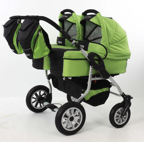 Tako Duo Jumper x ikerbabakocsi mózes+sport  STTF 02 zöld
