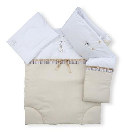 Zsiráf vagy macis ágynemű garnitúra 3 részes nagy
