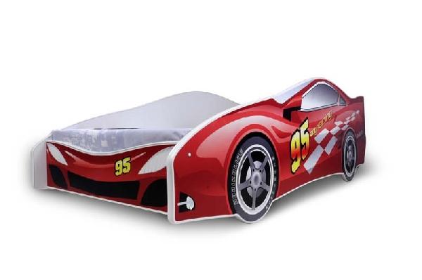 Noby 95 autóságy piros 180x80 cm
