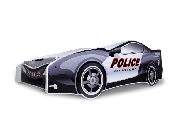 Noby autóságy police 180x80 cm