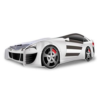 Noby autóságy Sport 180x80 cm fehér