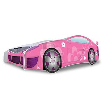 Noby autóságy Sport pink 180x80 cm