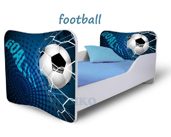 Noby gyerekágy kék focis  29