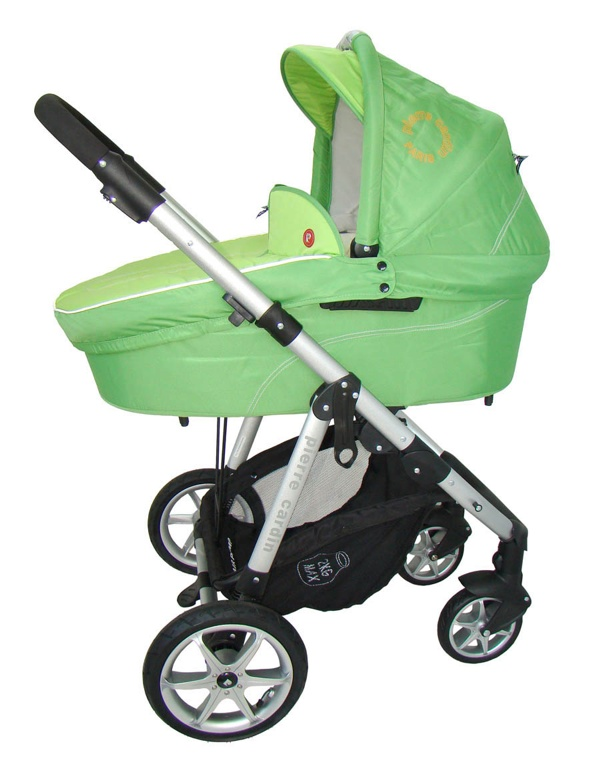 Pierre Cardin ps687 Travel System Babakocsi Green