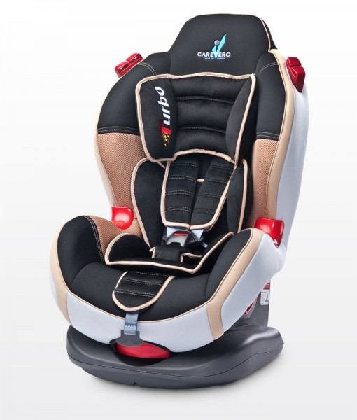 Caretero Turbo sport 9-25 kg autósülés Beige New