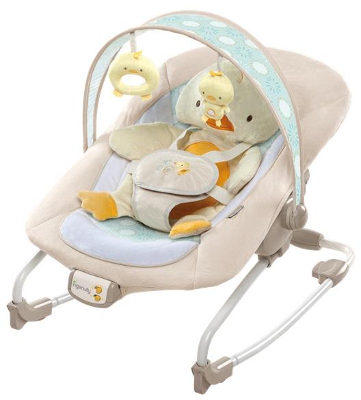 Bright Starts Quack and Cuddles zenélős, rezgő pihenőszék 18 kg-ig  10251