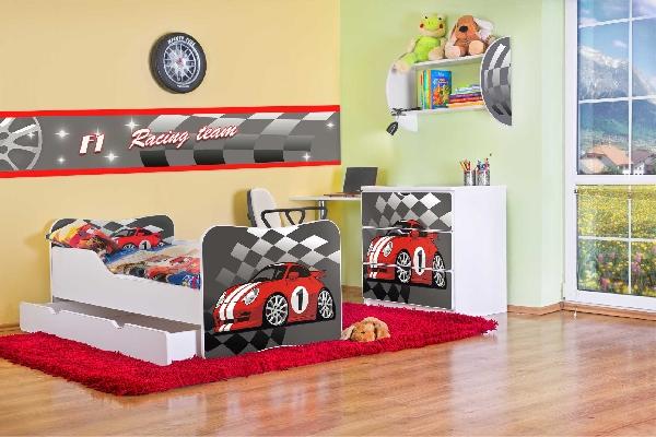 Noby gyerekszoba győztes piros autós