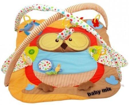 Baby Mix játszószőnyeg 06 bagoly