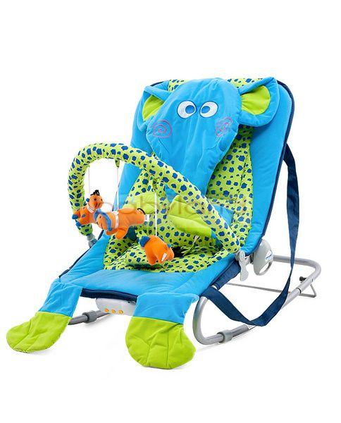 Chipolino Baby Bouncer Elephant rezgő-zenélő pihenőszék
