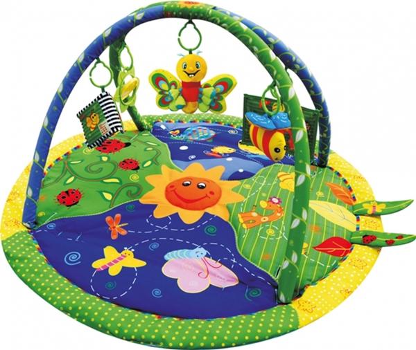 Sun Baby játszószőnyeg zenélő pillangóval