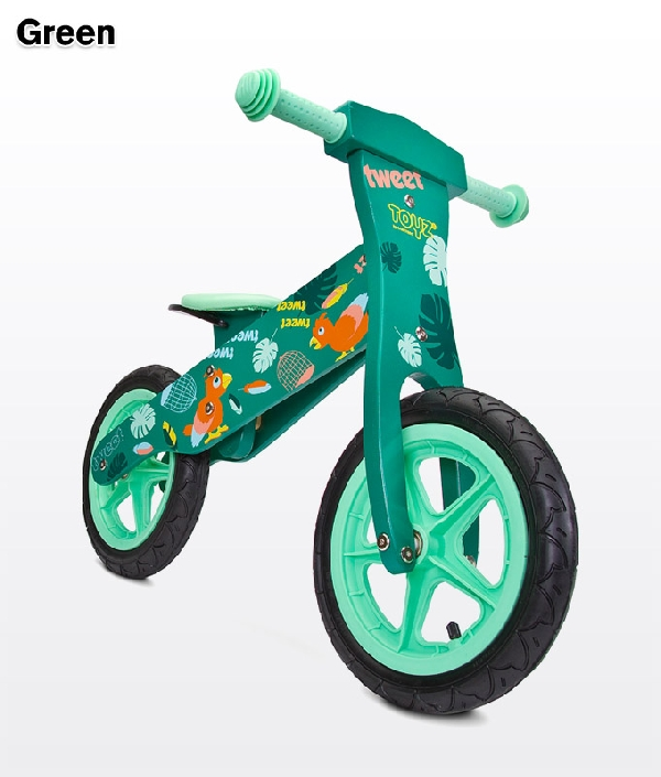 Toyz Zap  fa futóbicikli Green