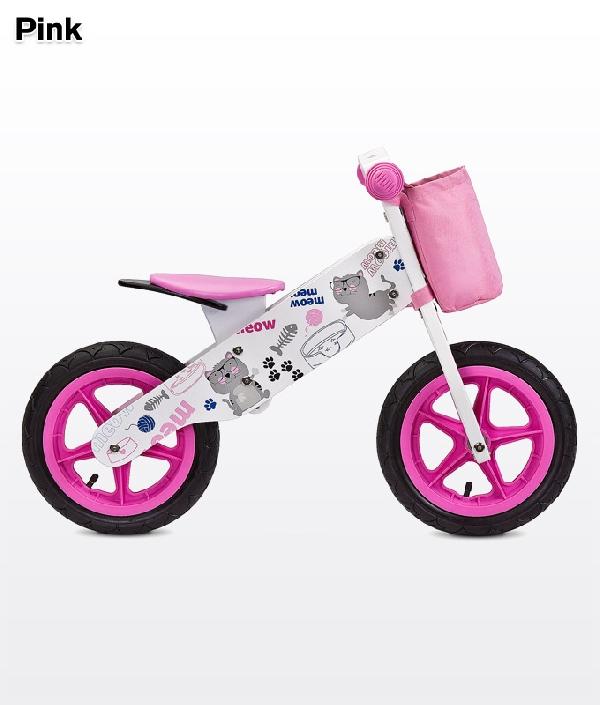 Toyz Zap  fa futóbicikli Pink