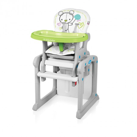 Baby Design Candy 2in1 multifunkciós etetőszék green