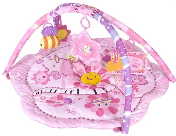 Sun Baby zenélő játszószőnyeg pink