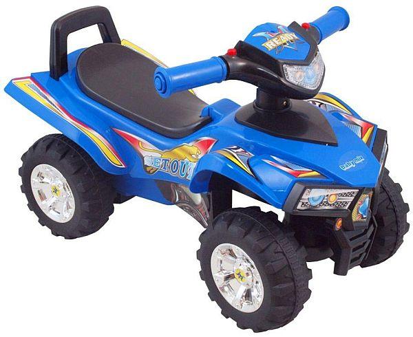 Quad bébitaxi és járássegítő kék