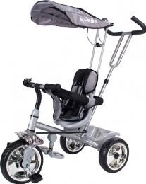 Sun Baby B-33 New  szülőkormányos tricikli szürke