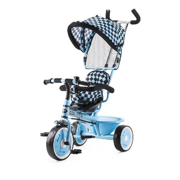 Chipolino Racer szülőkormányos tricikli kupolával - blue