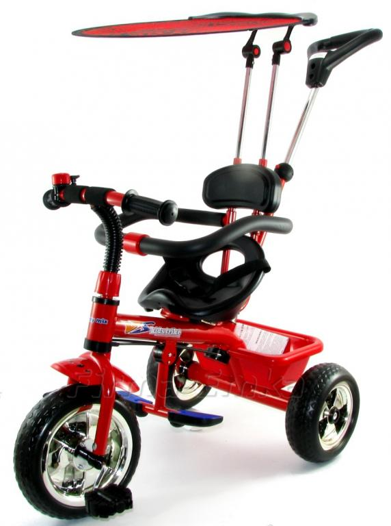 BABY-MIX KIDS TRIKE SZÜLŐKAROS TRICIKLI RED