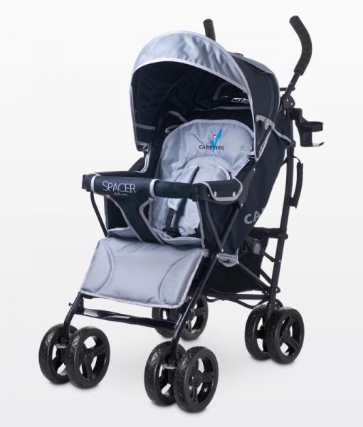 Caretero Spacer Deluxe sportbabakocsi  Grey