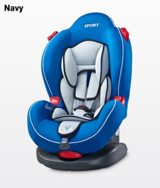 Caretero Sport Classic 9-25 kg biztonsági autós gyermekülés Navy