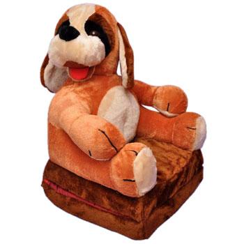 Gyerek  kinyitható figurás fotel kutyus