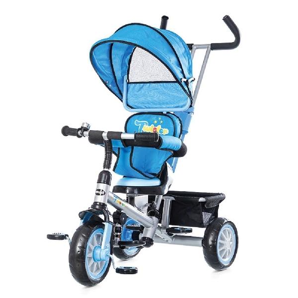 Chipolino Twister tricikli forgatható és dönthető üléssel - Blue