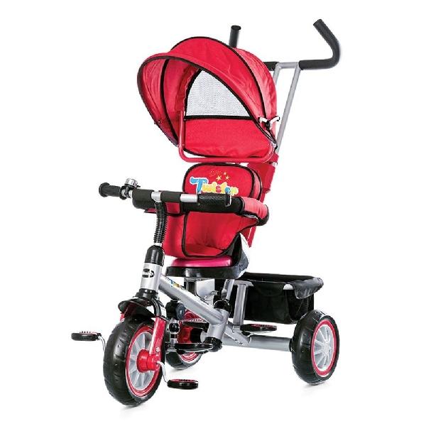 Chipolino Twister tricikliforgatható és dönthető üléssel - Red