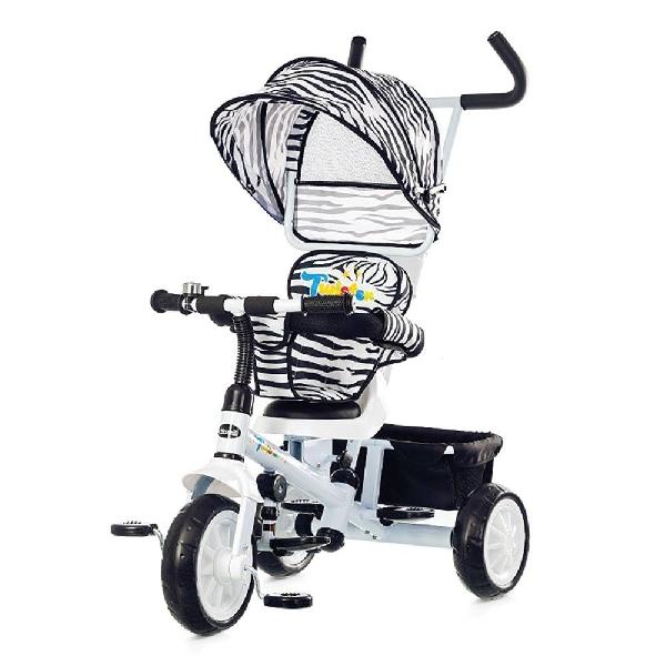 Chipolino Twister tricikli forgatható és dönthető üléssel - White