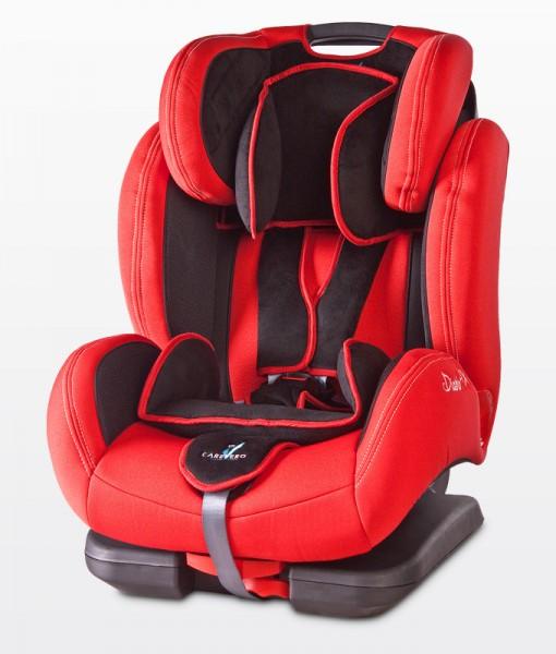 CARETERO DIABLO FIX ISOFIX  9-36 kg dönthető autósülés RED