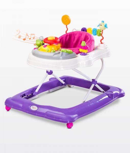 TOYZ Stepp zenélő bébikomp: purple