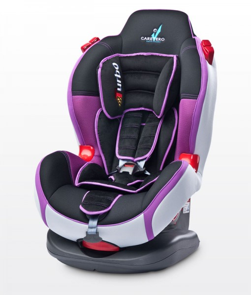 CARETERO TURBO SPORT 9-25 kg Purple autósülés New