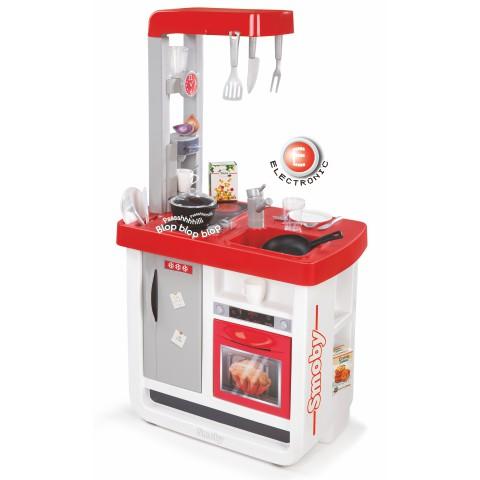 Bon Appetit konyha - elektronikus, piros színben