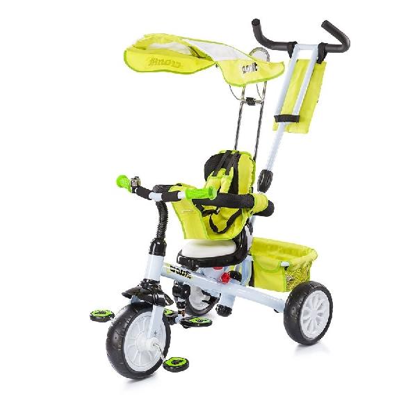 Chipolino Cross Fit  szülőkormányos tricikli Green