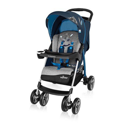 Baby Design Walker Lite lapra csukható sport babakocsi blue 03
