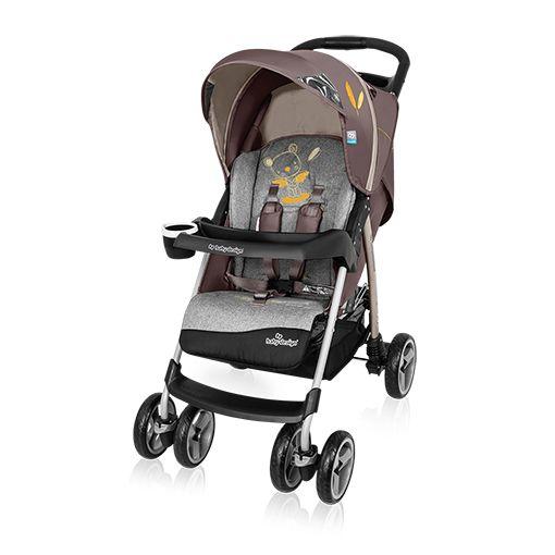 Baby Design Walker Lite lapra csukható sport babakocsi barna 09
