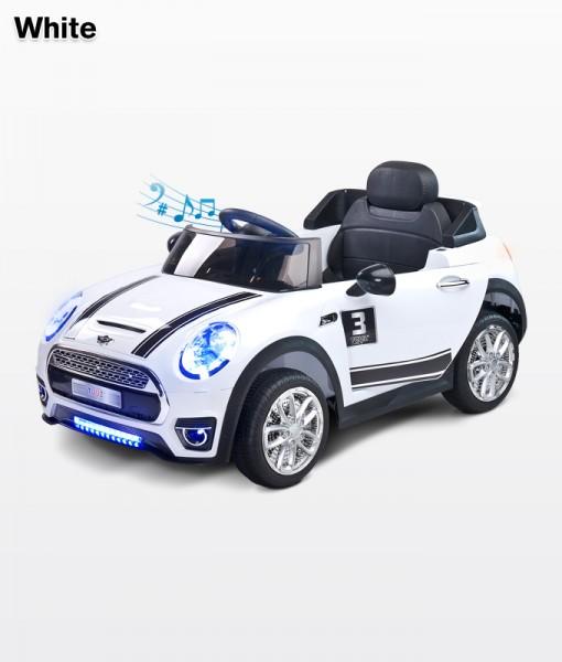 Toyz Maxi Sport Cabrio új elektromos kisautó 12 Voltos  White