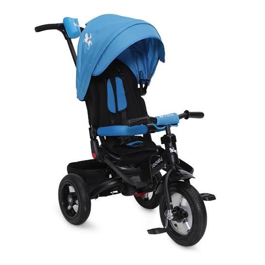 Byox Jockey szülőkormányos tricikli Blue  Forgatható, dönthető üléspozícióval