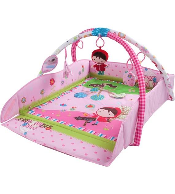 Sun Baby peremes zenélő játszószőnyeg pink