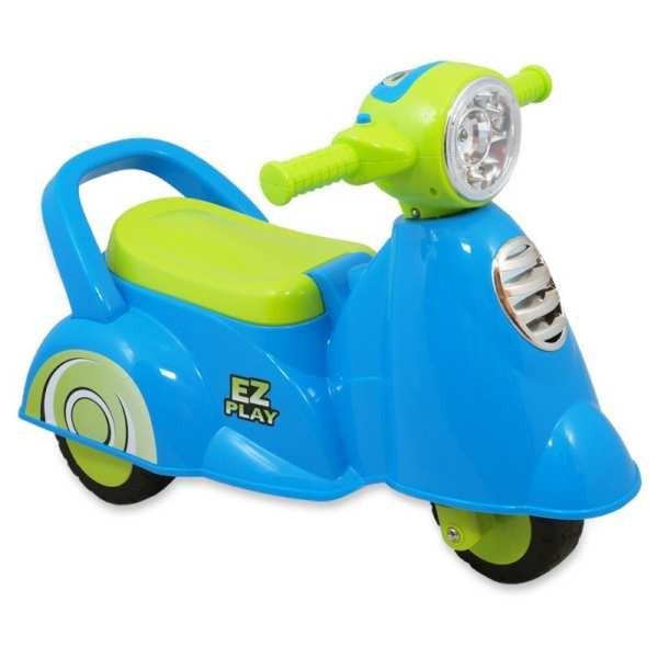 Baby mix robogó bébitaxi kék-zöld
