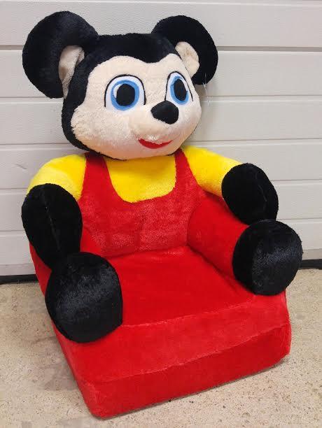 Figurás kinyitható plüss fotel Egérfiú