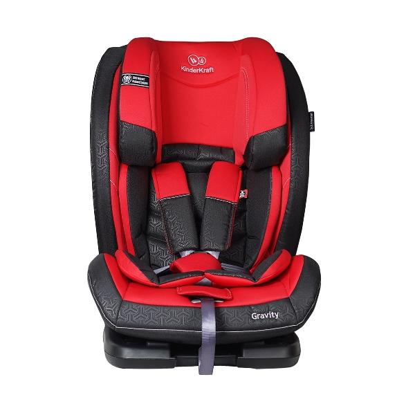 KinderKraft Gravity 9-36 kg autósülés Red